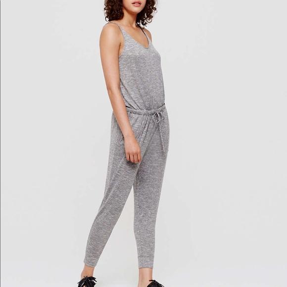 c8118acf042a Lou   Grey Pants - Marled GREY Lou   Grey jumpsuit